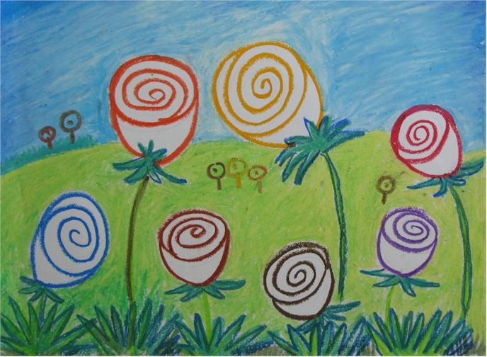 课程内容:儿童画,彩铅画,儿童画创作,蜡笔画